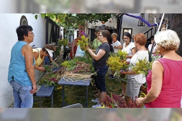 Duftender Segen aus Gärten und Wiesen