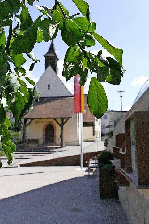 Ein Schmuckstück geworden ist der Rümminger Dorfplatz.   | Foto: M. Maier