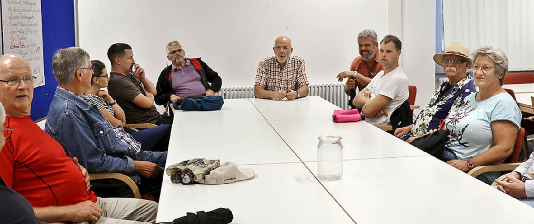 SPD-Gemeinderat und stellvertretender ...m über Schulentwicklung zu berichten.   | Foto: Gudrun Deinzer
