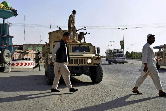Wieder heftige Kämpfe in Afghanistan