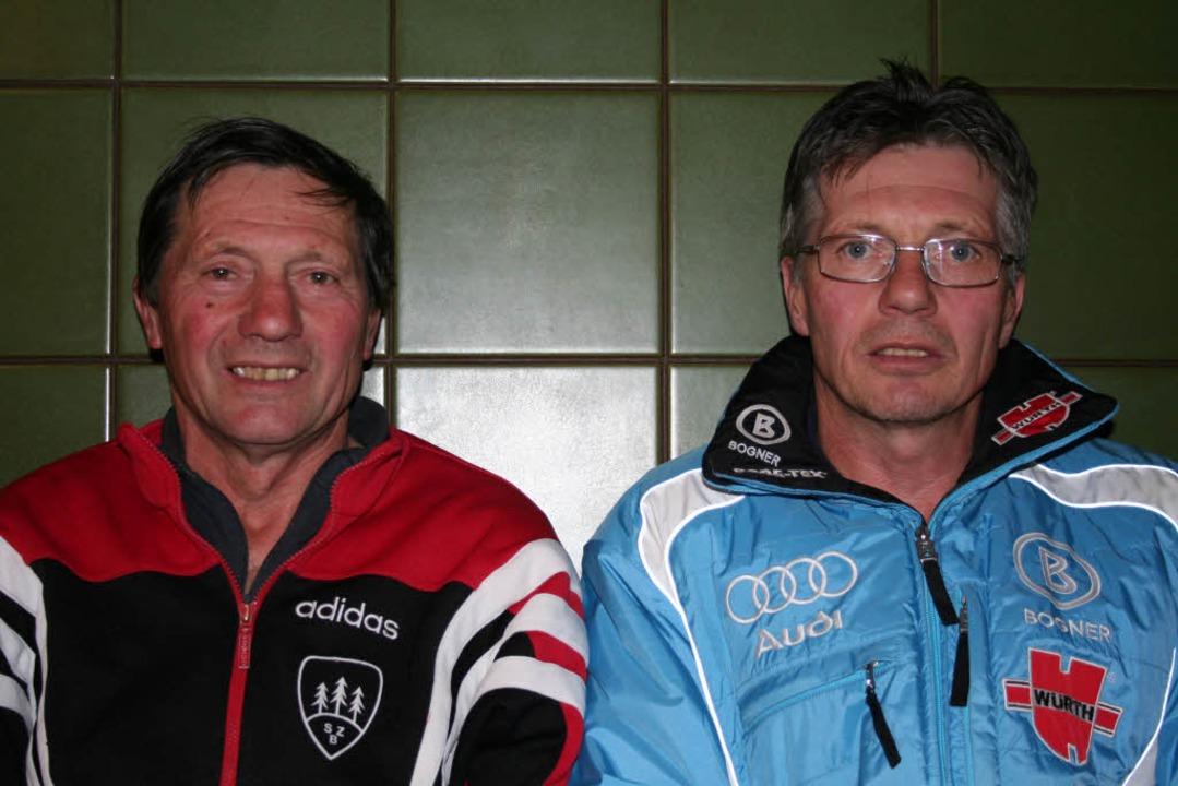 Ernst (l.) und Albert Wursthorn.  | Foto: Dieter Maurer