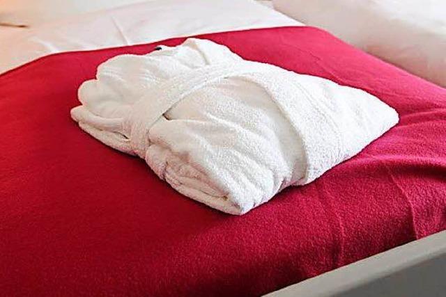 Wie viele Handtücher muss ein Hotel seinen Gästen zur Verfügung stellen?
