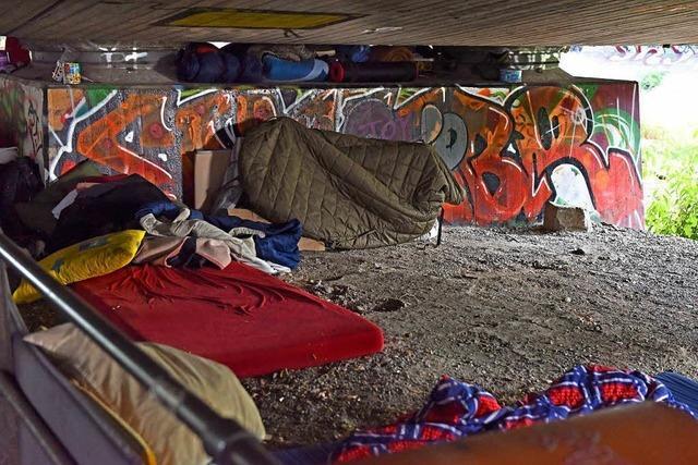 Die Hitze macht Freiburgs Obdachlosen zu schaffen