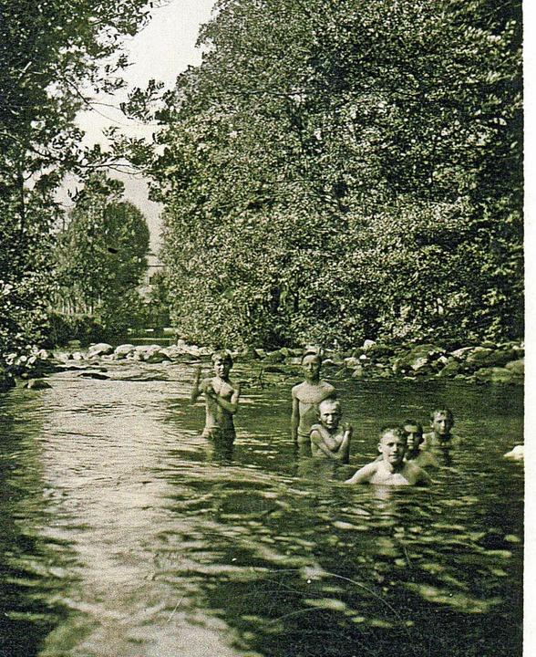 Sommer-Sonne -Badezeit ist derzeit ang...ef Stratz im Bild ganz vorne  zusehen.    Foto: Archiv Hans-Jürgen Wehrle