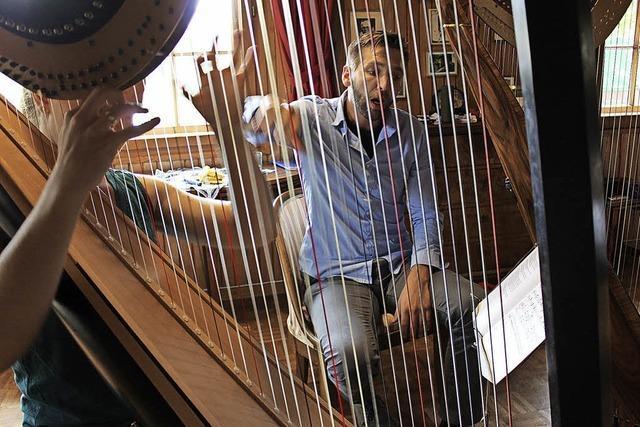 Harfenklänge auf dem Melcherhof