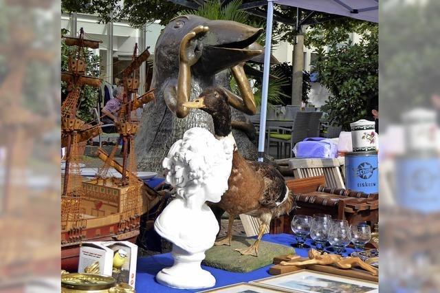 Flohmarkt traf Werres-Vögel