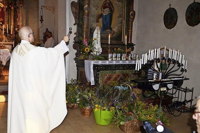 Wenn Kräuter in der Kirche duften