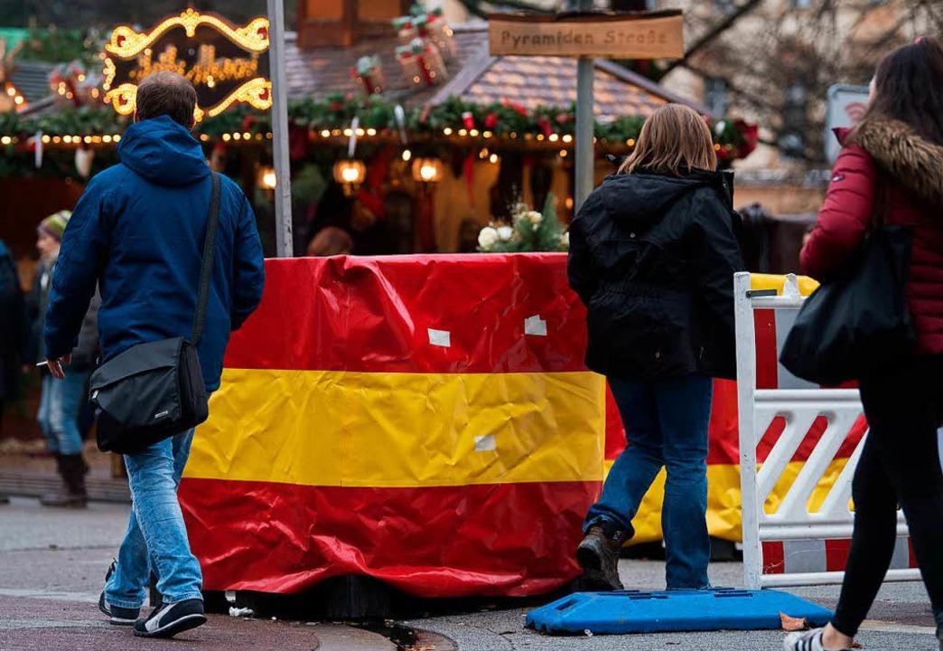 Weihnachtsmarkt in Karlsruhe  | Foto: Marijan Murat