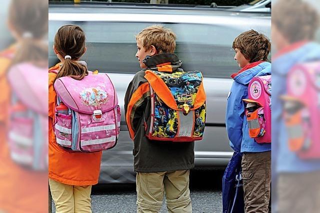 Den Schulweg vorher üben