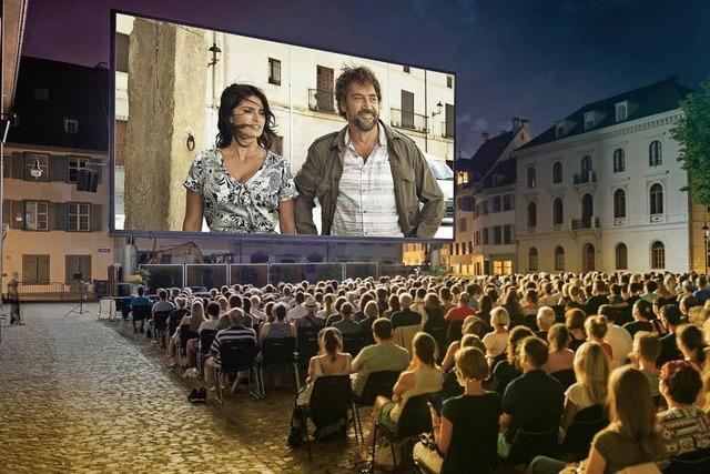 Allianz Cinema 2018 auf dem Münsterplatz Basel