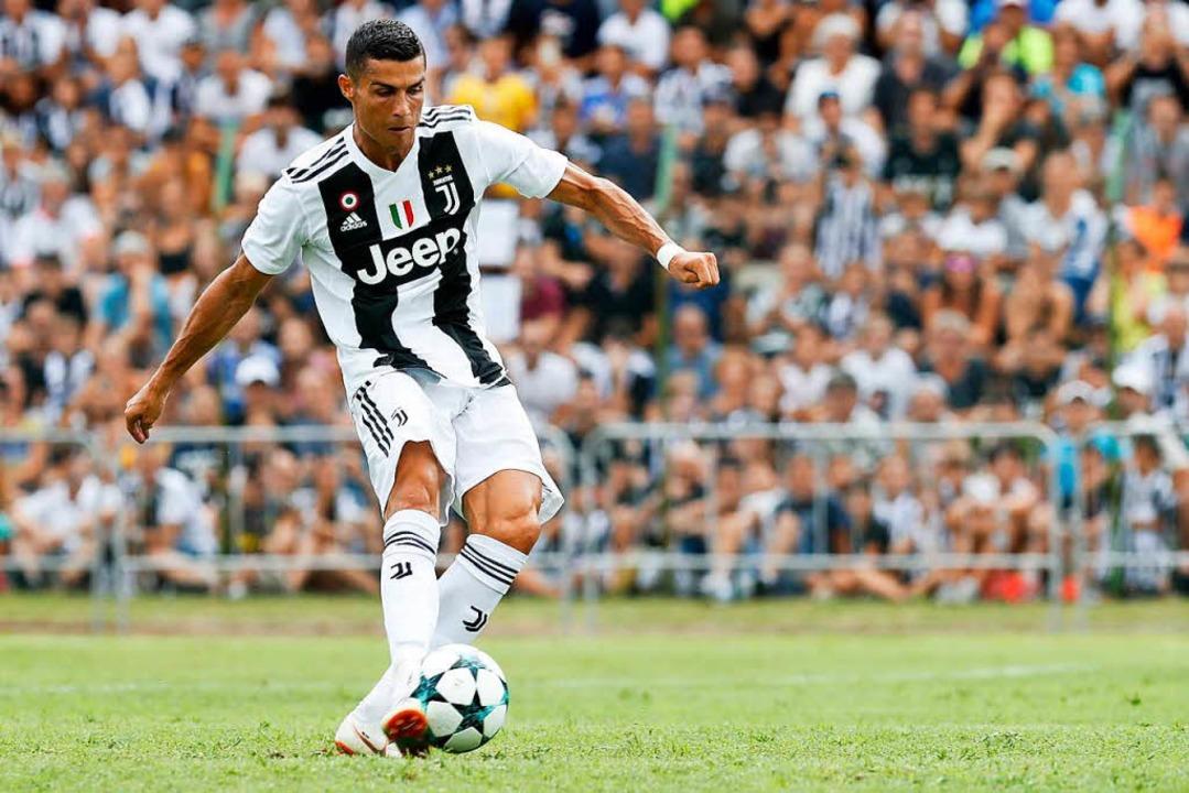 Elektrisiert die Tifosi in Italien: Cr...do, jetzt im Trikot von Juventus Turin  | Foto: dpa