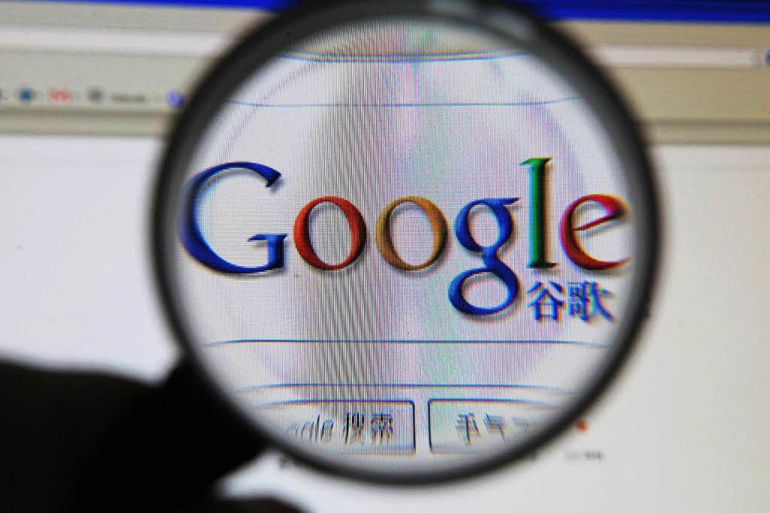 Google hat sich 2010 mit fast allen Diensten aus China zurückgezogen.    Foto: dpa