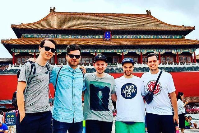 Darum ist die Freiburger Rockband There's a light in China auf Tour