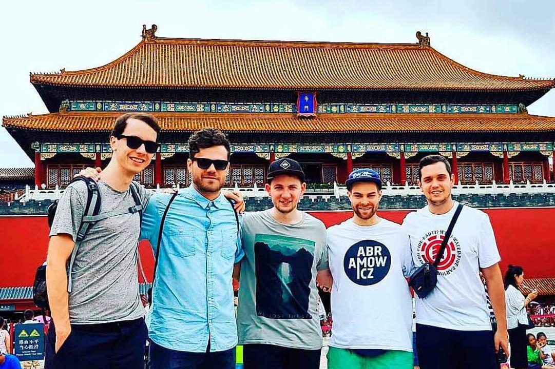 Zum Konzertauftakt nach Peking: Die Fr...ight ist aktuell auf Tournee in China.  | Foto: Privat