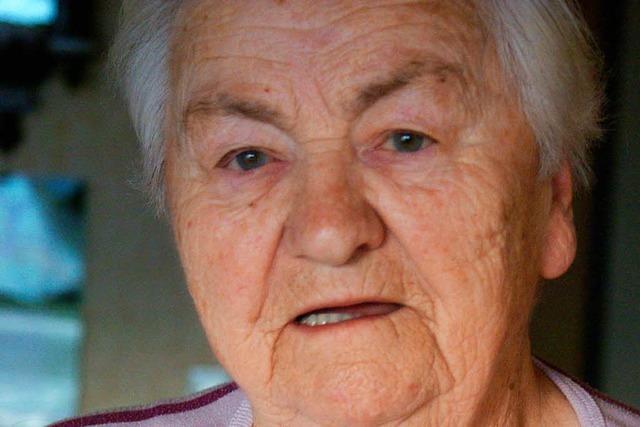 Anna Speck will ihren Lebensabend in der Heimat verbringen