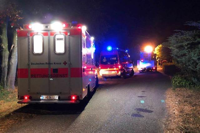 Feuerwehr rückt wegen Brand auf Aussiedlerhof aus