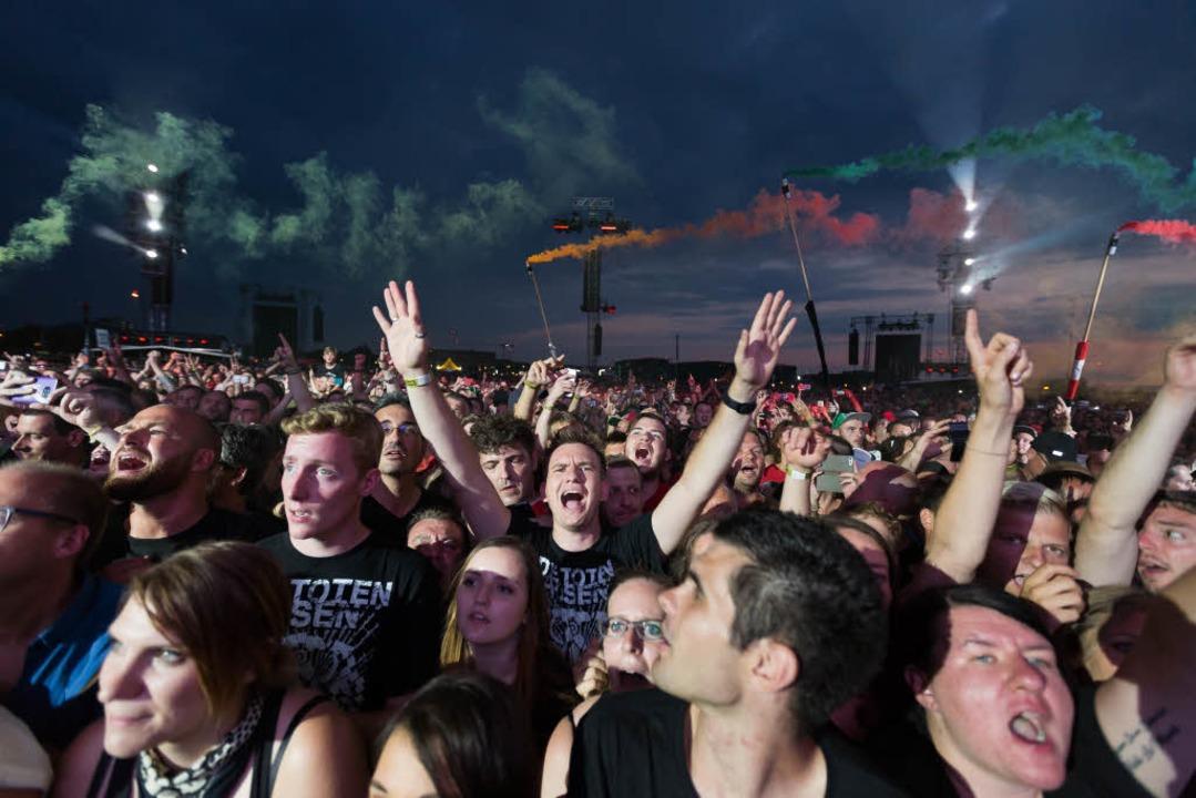 Glückliche Fans.  | Foto: Carlotta Huber