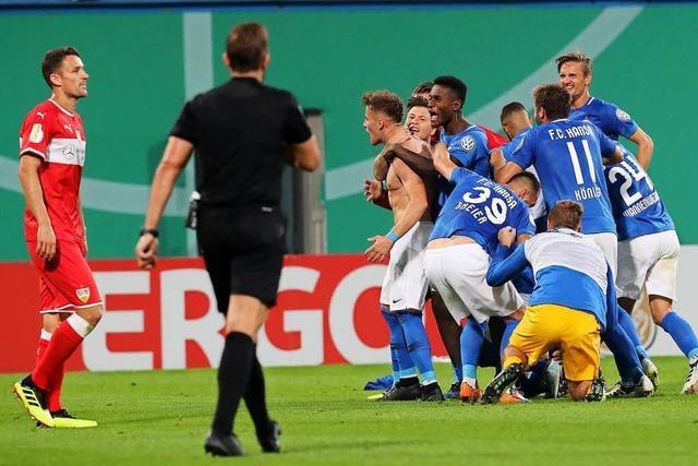 VfB Stuttgart stolpert erneut im Ostseestadion: 0:2 bei Hansa Rostock
