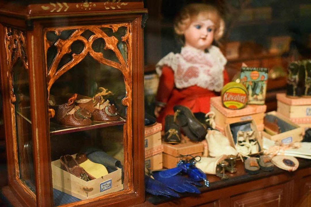 Ein Spielzeug-Schuhgeschäft     Foto: Frank Schoch