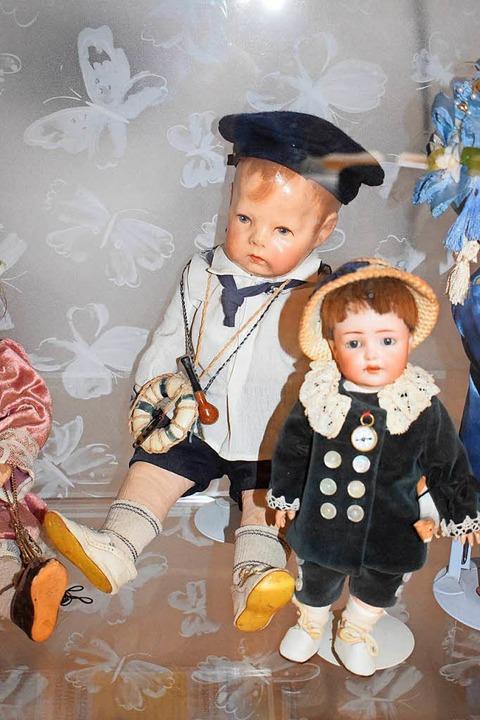 Puppen mit Porzellanköpfen    Foto: Frank Schoch