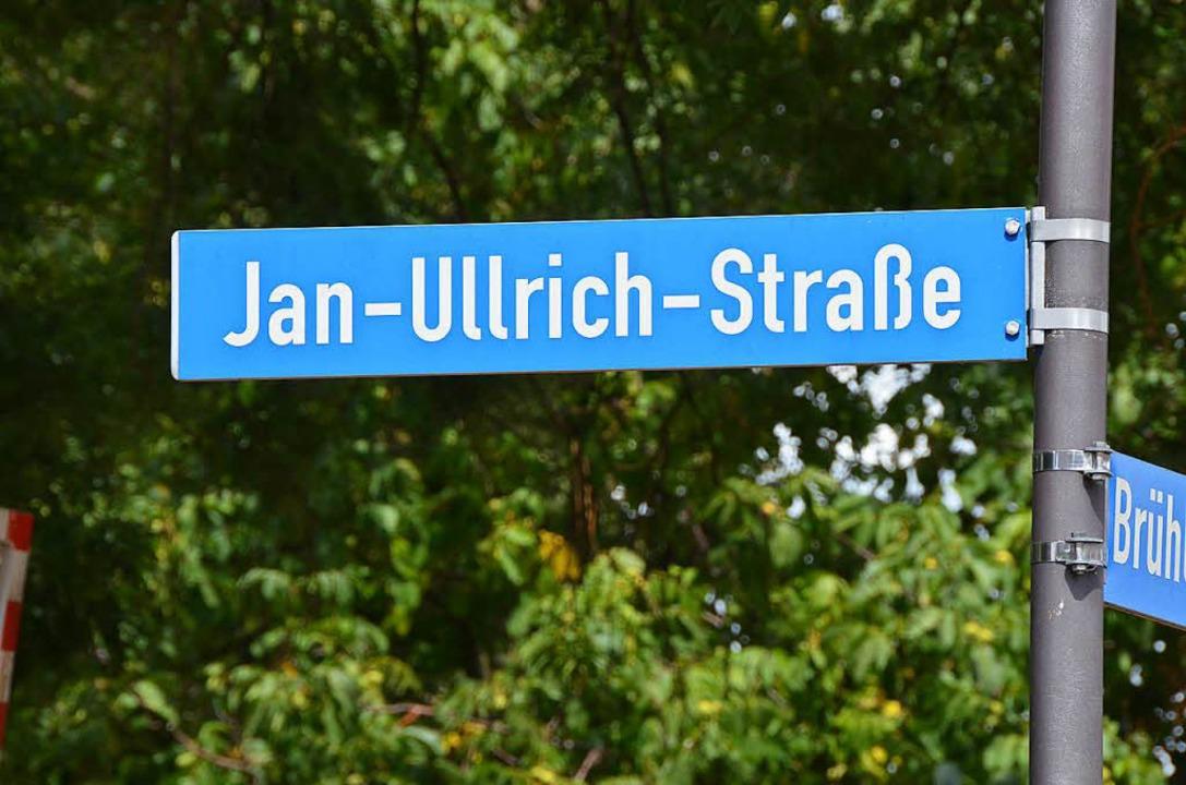 Seit 1997 ist in Merdingen eine Straße nach ihm benannt.  | Foto: Hannah Fedricks Zelaya