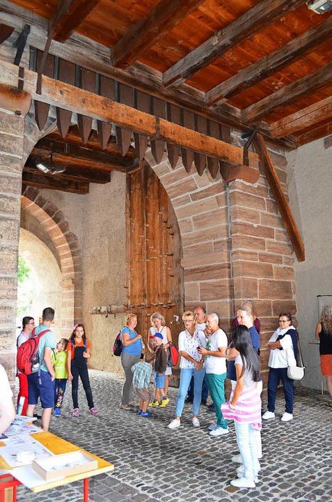 Das St. Johannes-Tor können Besuchern normalerweise nicht von innen besichtigen.  | Foto: Britta Wieschenkämper