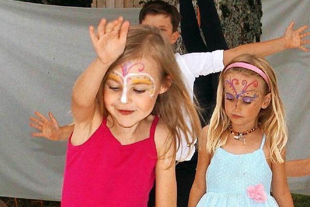 Kleines Wiesental: Bewegendes Finale des Tanzcamps für Kinder
