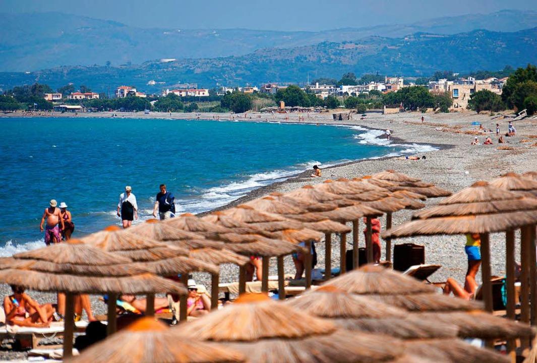 Der Tourismus – der griechische Wirtschaftszweig, der boomt.   | Foto: DPA