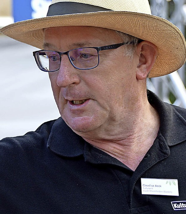 Cheforganisator Claudius Beck  | Foto: Horatio Gollin