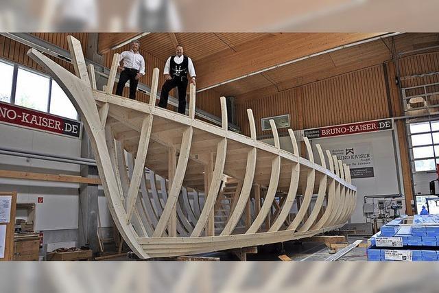 Schiffsbau-Premiere im Schwarzwald