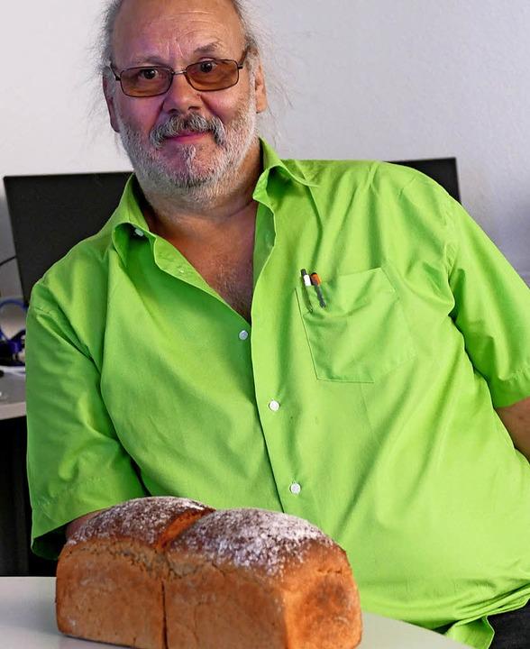 Mehr Regionalität geht fast nicht, mei...otsorte präsentiert: Brot aus Urkorn.   | Foto: Juliane Kühnemund