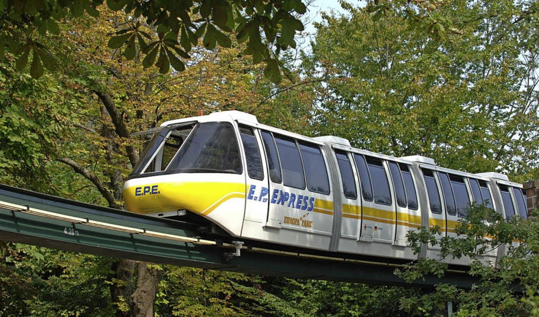 Der EP-Express im Europa-Park     Foto: Europa-Park