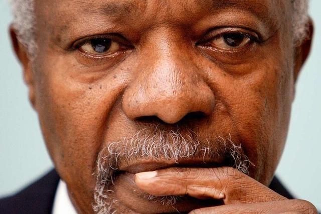 Der Rockstar des Weltfriedens – Zum Tod von Kofi Annan