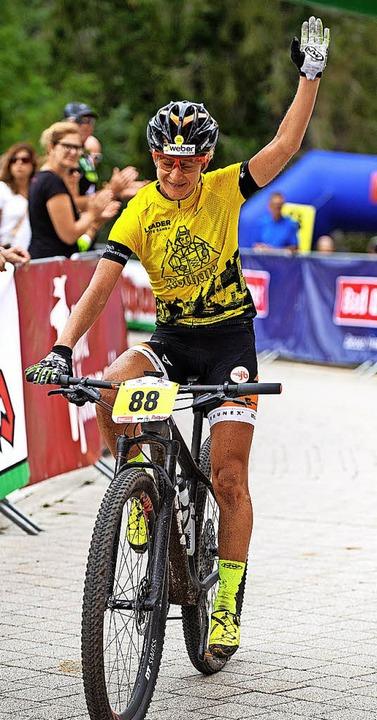 Frauensiegerin Adelheid Morath  | Foto: Wolfgang Scheu