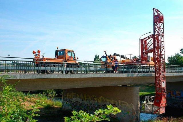 So sicher sind die Brücken in der Ortenau