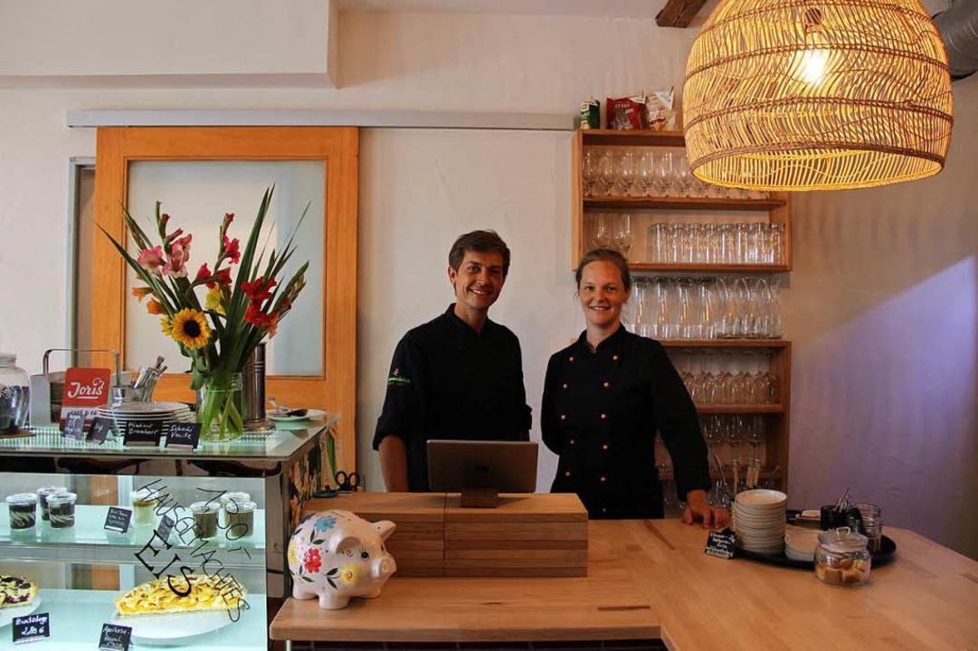 Jonas Hartmann (l.) und Floris Suchant  kennen sich noch aus der Schulzeit.  | Foto: Dorothea Winter