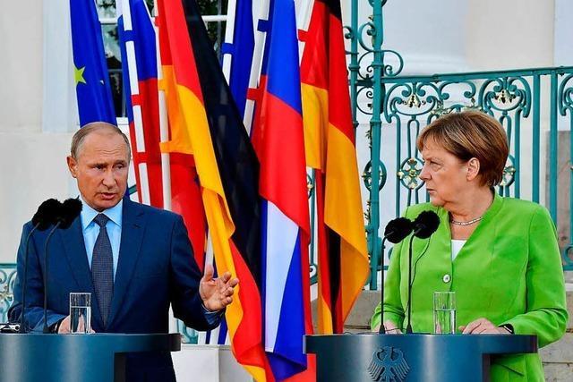 Erst muss Putin liefern, dann kann die EU in Syrien helfen