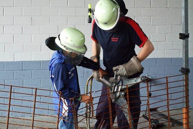 In Seelbach können schon Vierjährige zur Feuerwehr