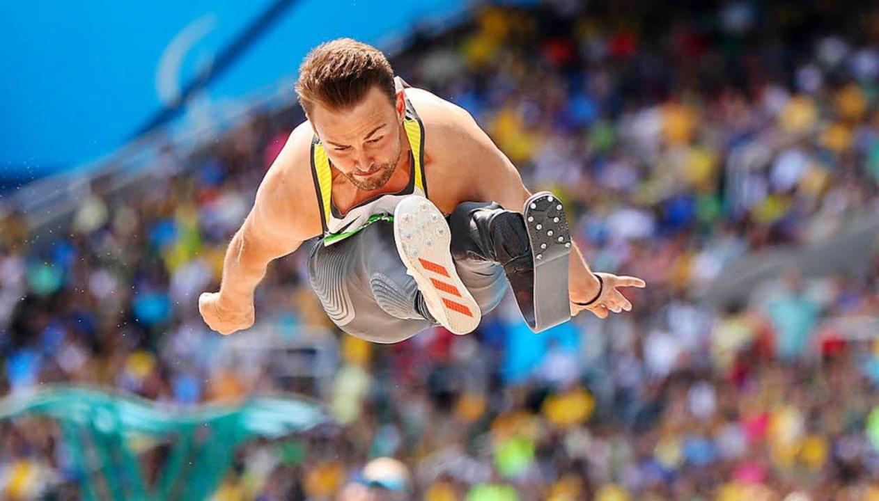 Paralympics-Sieger Heinrich Popow wird...htathletik-EM der Behinderten beenden.    Foto: dpa