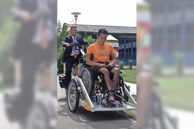 Rollstuhlrad schenkt ein Stück Freiheit