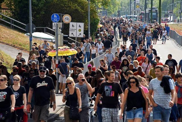 Positive Bilanz nach Tote-Hosen-Konzert: Müll und Lärm hielten sich in Grenzen