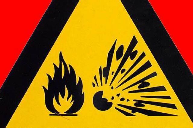 Ein Verletzter bei kleiner Explosion in Basler Chemielabor