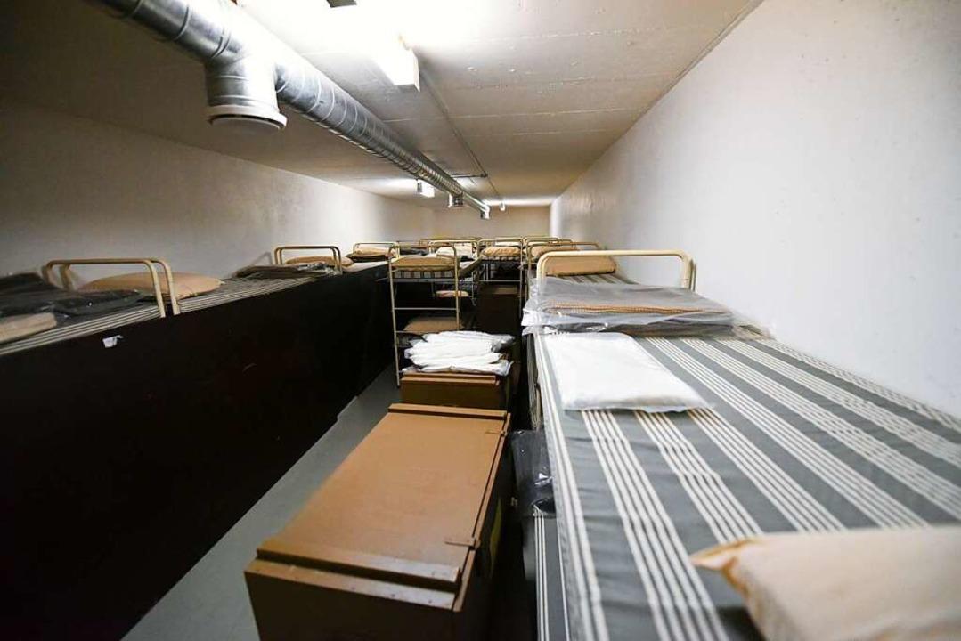 Die Betten bleiben leer: Das Bötzinger Hilfskrankenhaus  | Foto: Jonas Hirt