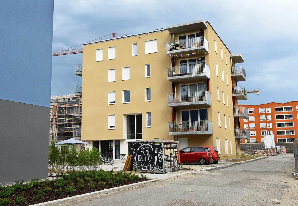 Das Haus des inklusiven Wohnprojekts im Gebiet Gutleutmatten.  | Foto: Rita Eggstein