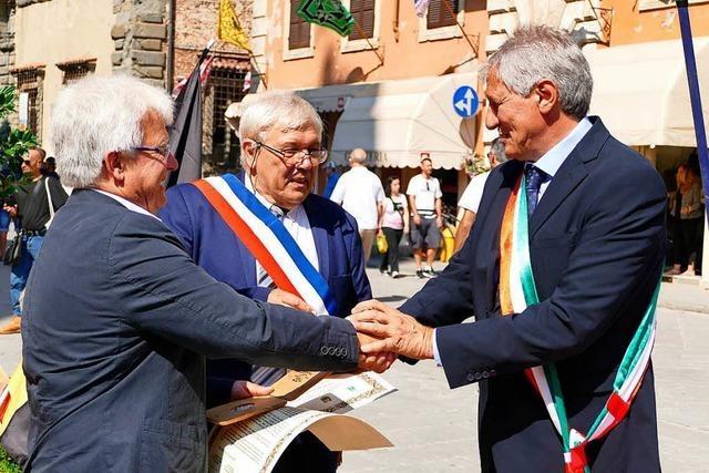 Denzlinger feiern 25 Jahre Freundschaft mit Italienern und Franzosen
