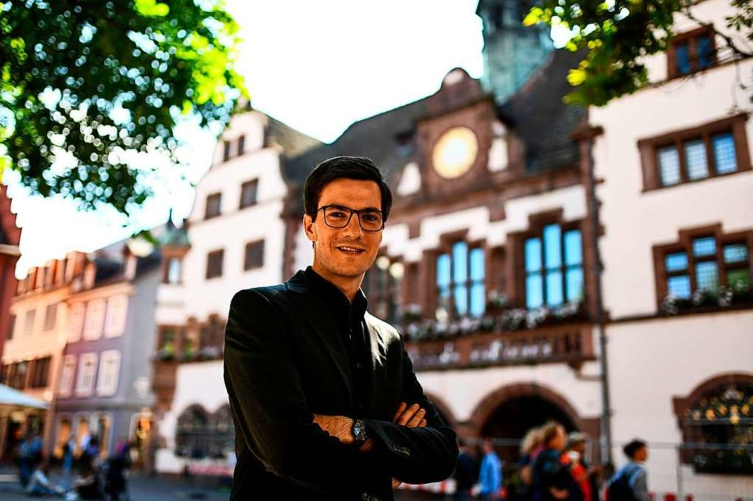 Martin Horn sichert zu, dass Dietenbach keine Gefahr für das ZMF werden soll.  | Foto: dpa