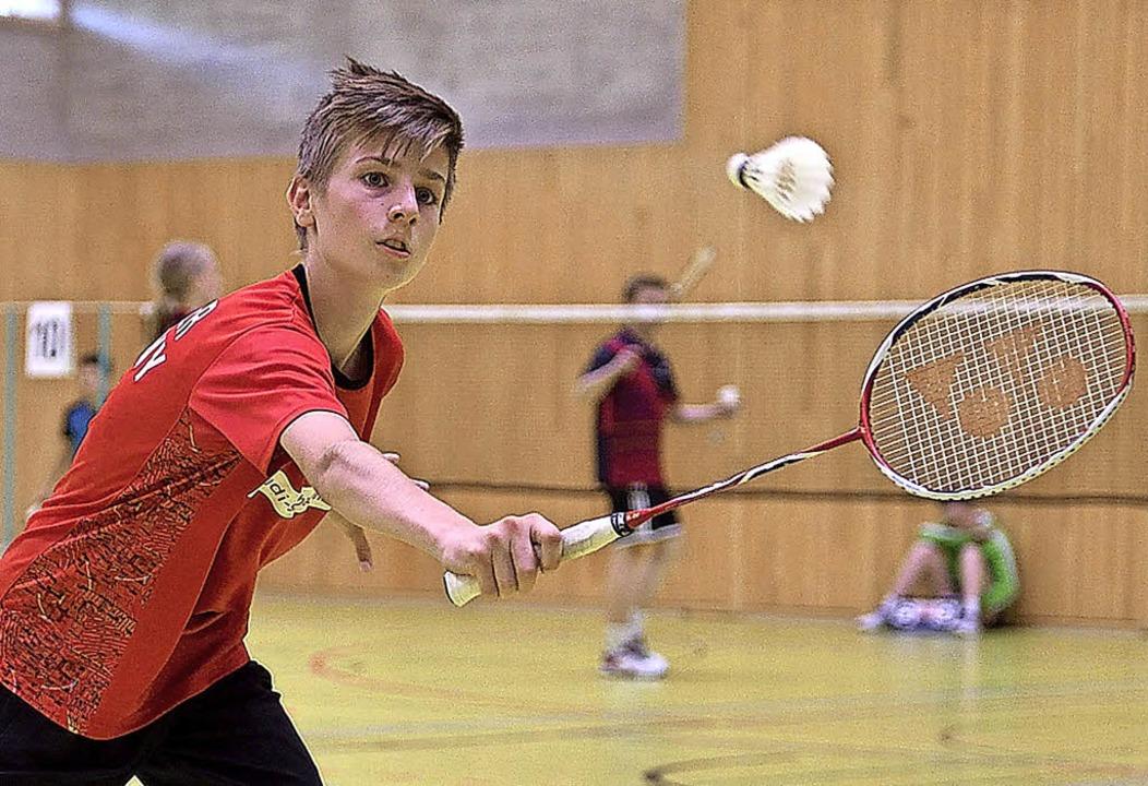 Macht seine Gegner über  Schnelligkeit... sagt sein Coach Lieven van der Hoofd.  | Foto: Bernd Bauer