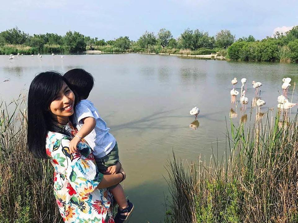 Que Phuong Tran und ihr Sohn.  | Foto: privat