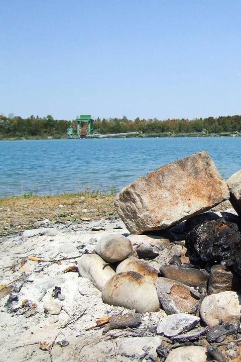 Die Wasserqualität am Friessee soll he...gend sein, und das Ambiente ebenfalls.  | Foto: Susanne Müller