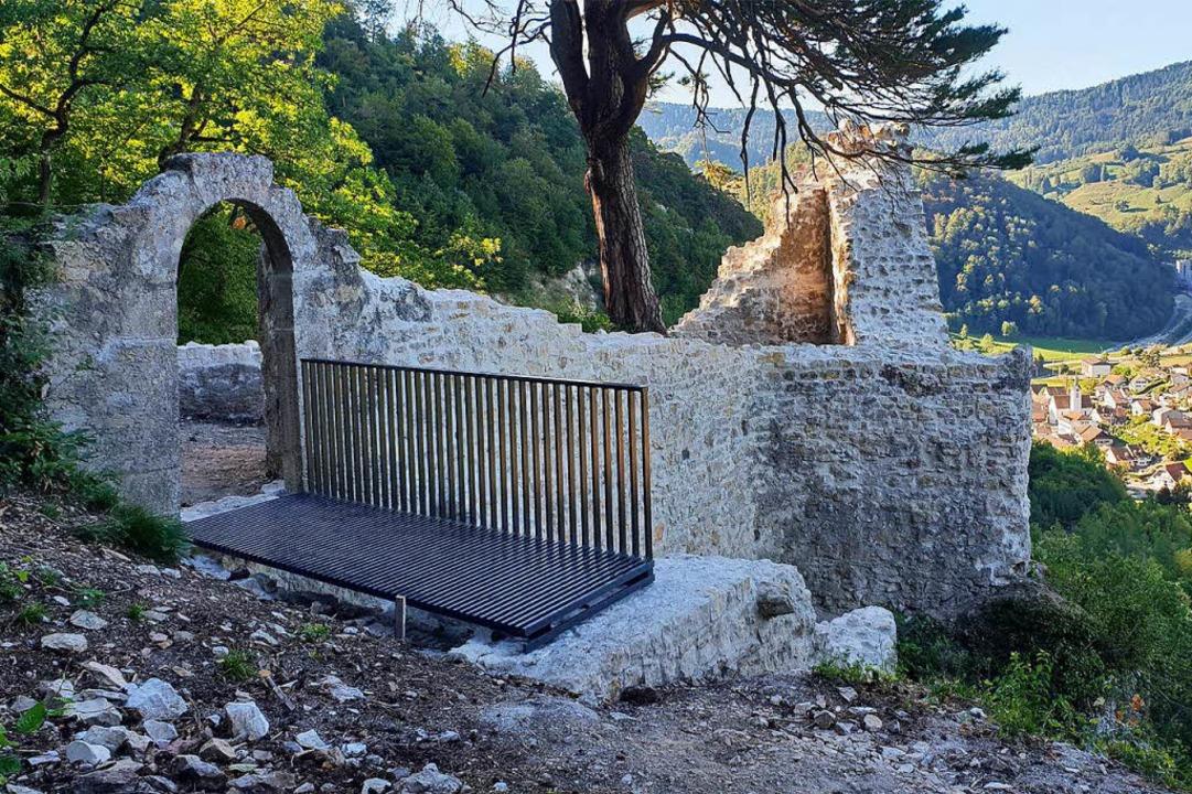 Die Ruine der Baselbieter Burg wurde restauriert und ist nun wieder zugänglich.  | Foto: Archäologie Baselland